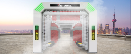 Automatic tunnel wash